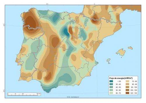 Iberian Peninsula's geothermal power can generate current electrical capacity five times over