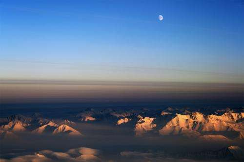 IceBridge starts with sea ice surveys