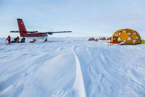 Ice mission and extreme camping