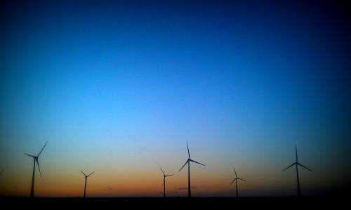 Climate risk from wind farms is minimal, study says