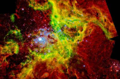 The changing laws that determine how dust affects the light that reaches us from the stars