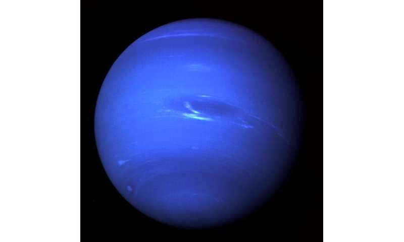 Image: 25 years ago, Voyager 2 captured images of Neptune