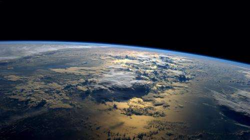 Image: An astronaut's view from space