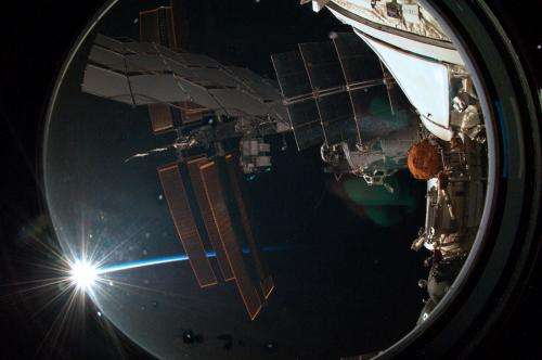 Image: Arrival at the International Space Station