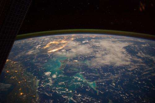 Image: Caribbean Sea viewed from the International Space Station