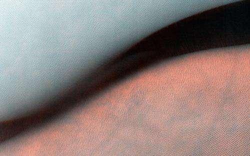 Image: Giant landform on Mars