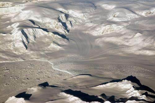 Image: Glaciers and mountains in West Antarctica