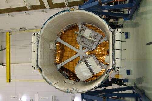 Image: NASA's RapidScat payload