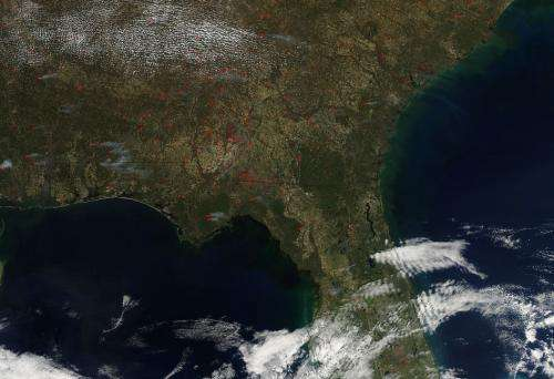 Image: Prescribed fires abound in Southeast U.S.