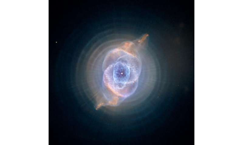 Image: The Cat's Eye Nebula (NGC 6543)