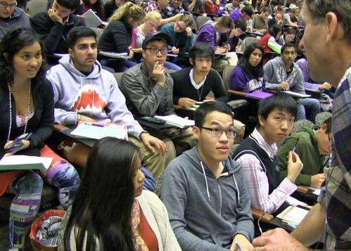 Improve grades, reduce failure -- undergrads should tell profs 'Don't lecture me'