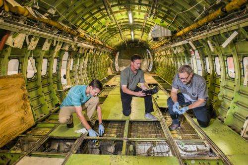 In-flight sensor tests a step toward Structural Health Monitoring for safer flights