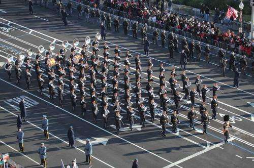 In sync and in control? Marching in unison makes men feel more formidable