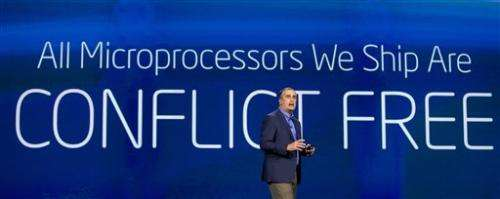 Intel says its processors are now 'conflict-free'