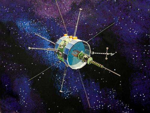 ISEE-3 comes to visit earth
