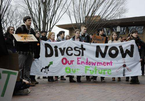 Is university's resources blacklist social activism, or the shape of things to come?
