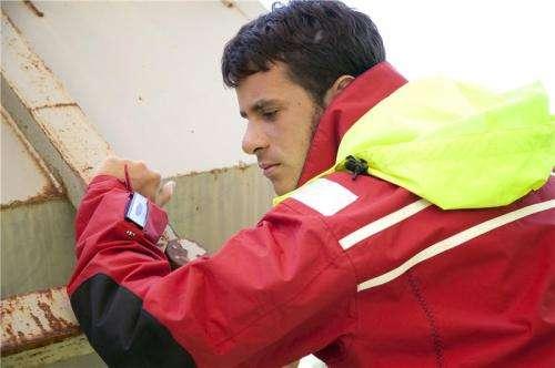 Jacket works like a mobile phone