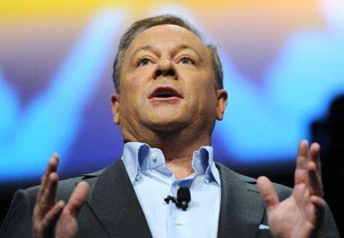Jack Tretton, president and CEO of Sony Computer Entertainment of America, speaks in Los Angeles, California on June 10, 2013