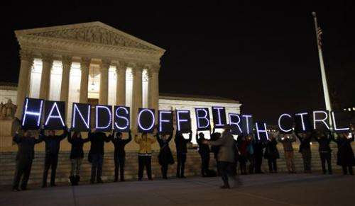 Justices tackle health law birth control coverage