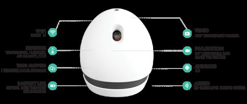 Kickstarter project – KEECKER – rolling robot entertainment center