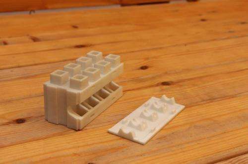 Kite Bricks prototype proposes smarter building approach