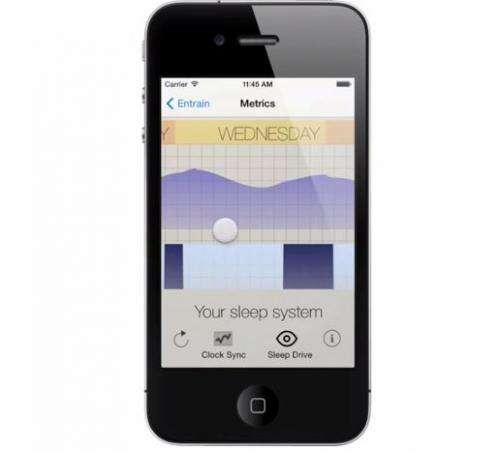 'Body hack' app by math researchers shortcuts jet-lag recovery