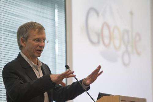 lan Eustace speaks during the grand opening of Google Kirkland October 28, 2009 in Kirkland, Washington