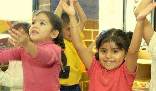 Latino children make greatest gains in NC Pre-K