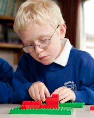 LEGO bricks build better mathematicians