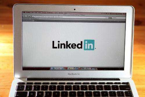 LinkedIn's share price shed just over 10 dollars, dropping by around 4.3 percent to $223.71 in the wake of reports that Facebook