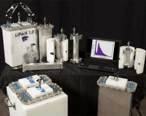 Lithium-based neutron detector named among Top 100 technologies of the year