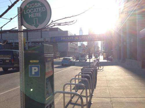 Low parking costs may encourage automobile use