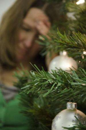 Many different factors can trigger holiday depression