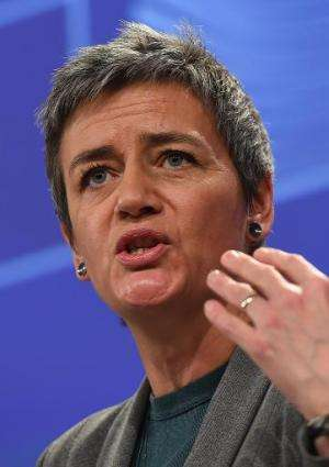 Margrethe Vestager (pictured) has said she will look carefully at calls for Google to apply the right to be forgotten rule to al