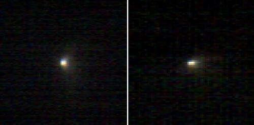 Mars Orbiter's Spectrometer Shows Oort Comet's Coma