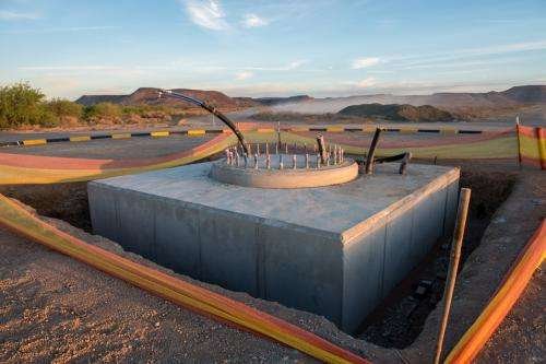 MeerKAT telescope foundations complete
