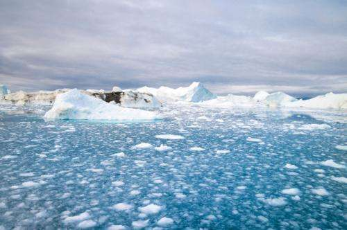 Melting ice cap opening shipping lanes and creating conflict among nations
