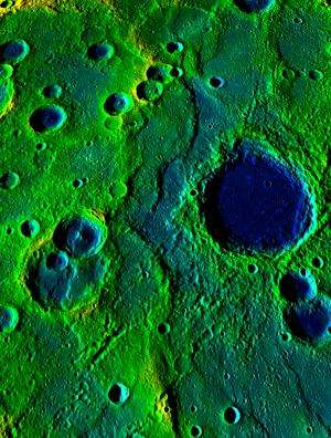 Mercury's contraction much greater than thought