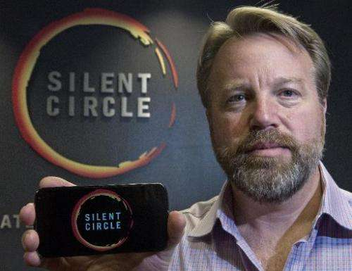 Mike Janke, CEO & Co-Founder of Silent Circle, makers of encrypted technology for mobile and desktop devices and email, stan