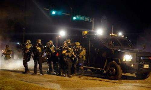 Militarized policing is counterproductive, according to expert