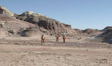 Mission accomplished for Mars expedition