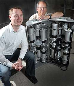 Mobile imager of fast neutrons spots radiation source at a distance and through shielding
