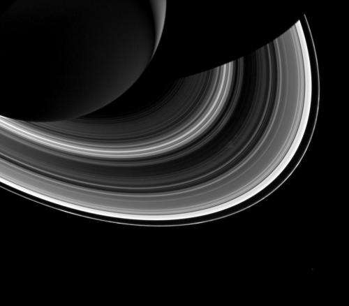 Moonlets Created and Destroyed in a Ring of Saturn