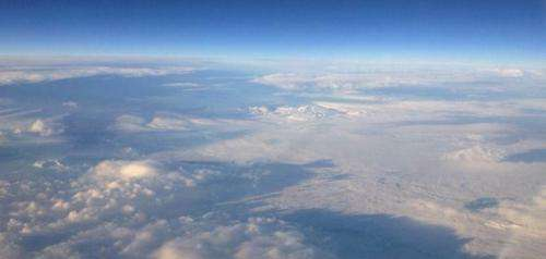 NASA completes radar study of Icelandic glacier winter movement