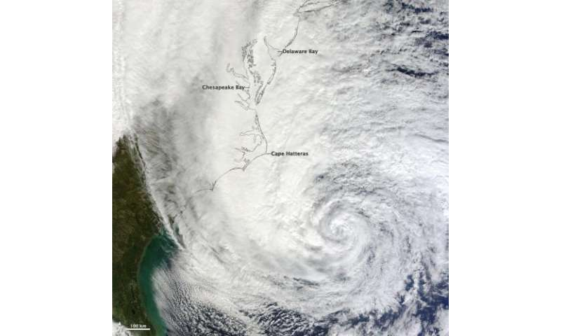 NASA remembers Hurricane Sandy