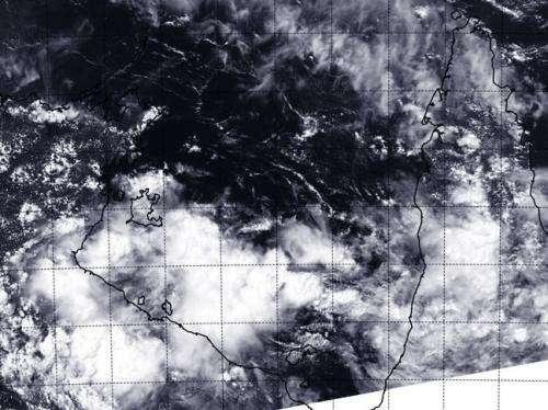 NASA sees ex-Tropical Cyclone Gillian in Australia's Gulf of Carpentaria