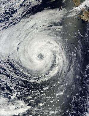 NASA sees massive Tropical Storm Lowell close enough to trouble Baja California