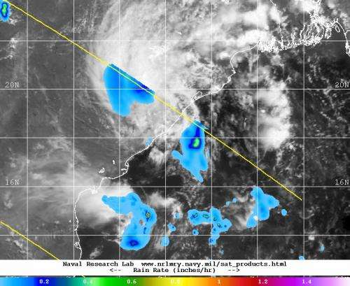 NASA sees northern Indian Ocean System 92B's end