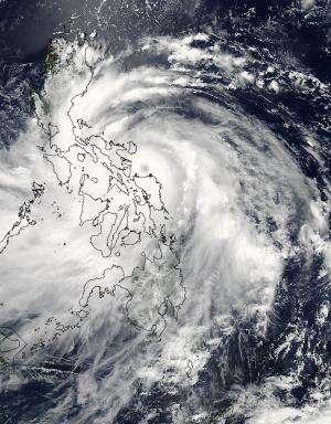 NASA sees Typhoon Rammasun's eye staring at Visayas, Philippines