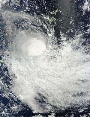 NASA sees wind shear affecting Tropical Cyclone Lusi
